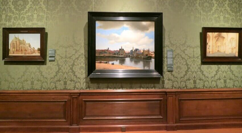 Photo of View of Delft by Johannes Vermeer